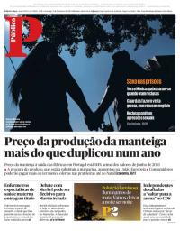 capa Público de 3 setembro 2017
