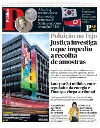capa Público de 4 fevereiro 2018
