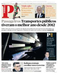 capa Público de 4 março 2018