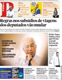 capa Público de 4 maio 2018
