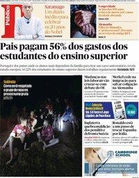 capa Público de 4 julho 2018