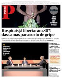 capa Público de 5 janeiro 2018