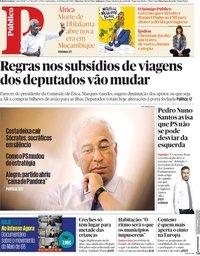 capa Público de 5 maio 2018