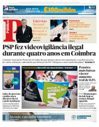 capa Público de 5 outubro 2017