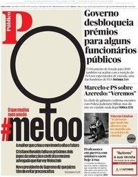 capa Público de 5 outubro 2018