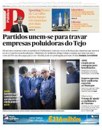 capa Público de 6 fevereiro 2018