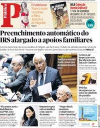 capa Público de 6 junho 2018