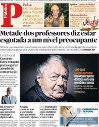 capa Público de 6 julho 2018