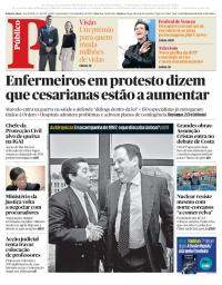 capa Público de 6 setembro 2017