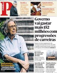 capa Público de 6 setembro 2018