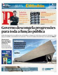 capa Público de 6 outubro 2017