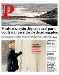 capa Público de 6 dezembro 2017