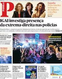 capa Público de 7 junho 2018