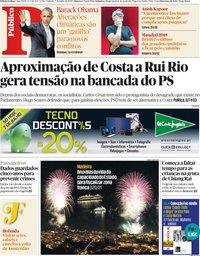 capa Público de 7 julho 2018