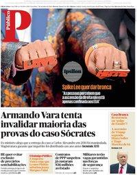 capa Público de 7 setembro 2018