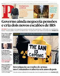 capa Público de 7 outubro 2017