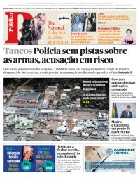 capa Público de 8 setembro 2017