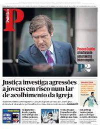capa Público de 8 outubro 2017