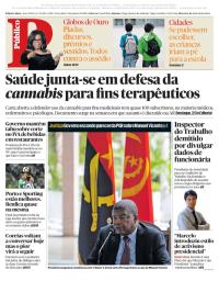 capa Público de 9 janeiro 2018