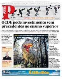 capa Público de 9 fevereiro 2018