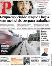 capa Público de 9 maio 2018