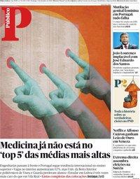 capa Público de 9 setembro 2018