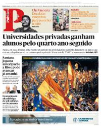 capa Público de 9 outubro 2017