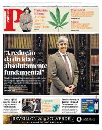 capa Público de 9 dezembro 2017
