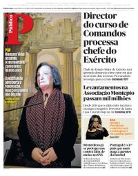capa Público de 10 janeiro 2018