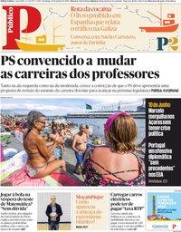 capa Público de 10 junho 2018