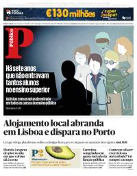 capa Público de 10 setembro 2017