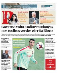 capa Público de 10 outubro 2017