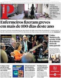 capa Público de 10 outubro 2018