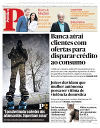 capa Público de 10 dezembro 2017