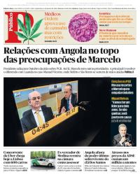 capa Público de 11 janeiro 2018