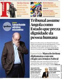capa Público de 11 maio 2018