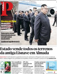 capa Público de 11 junho 2018