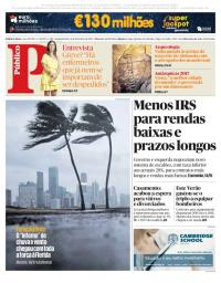 capa Público de 11 setembro 2017