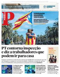 capa Público de 11 outubro 2017
