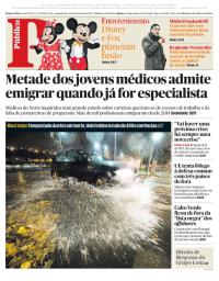 capa Público de 11 dezembro 2017