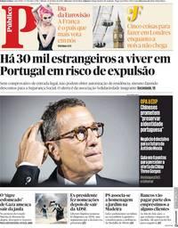 capa Público de 12 maio 2018