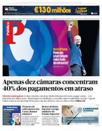 capa Público de 12 setembro 2017