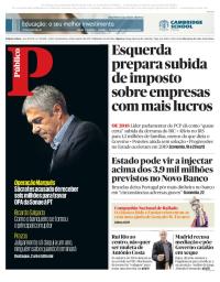 capa Público de 12 outubro 2017