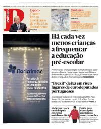 capa Público de 12 dezembro 2017