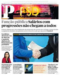 capa Público de 13 janeiro 2018
