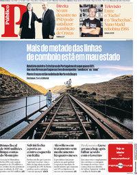 capa Público de 13 março 2018