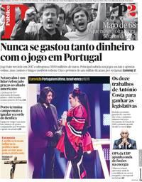 capa Público de 13 maio 2018