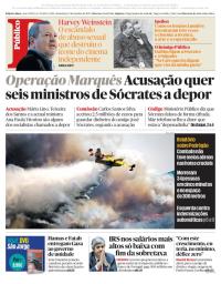 capa Público de 13 outubro 2017