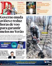 capa Público de 14 março 2018