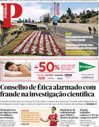 capa Público de 14 maio 2018